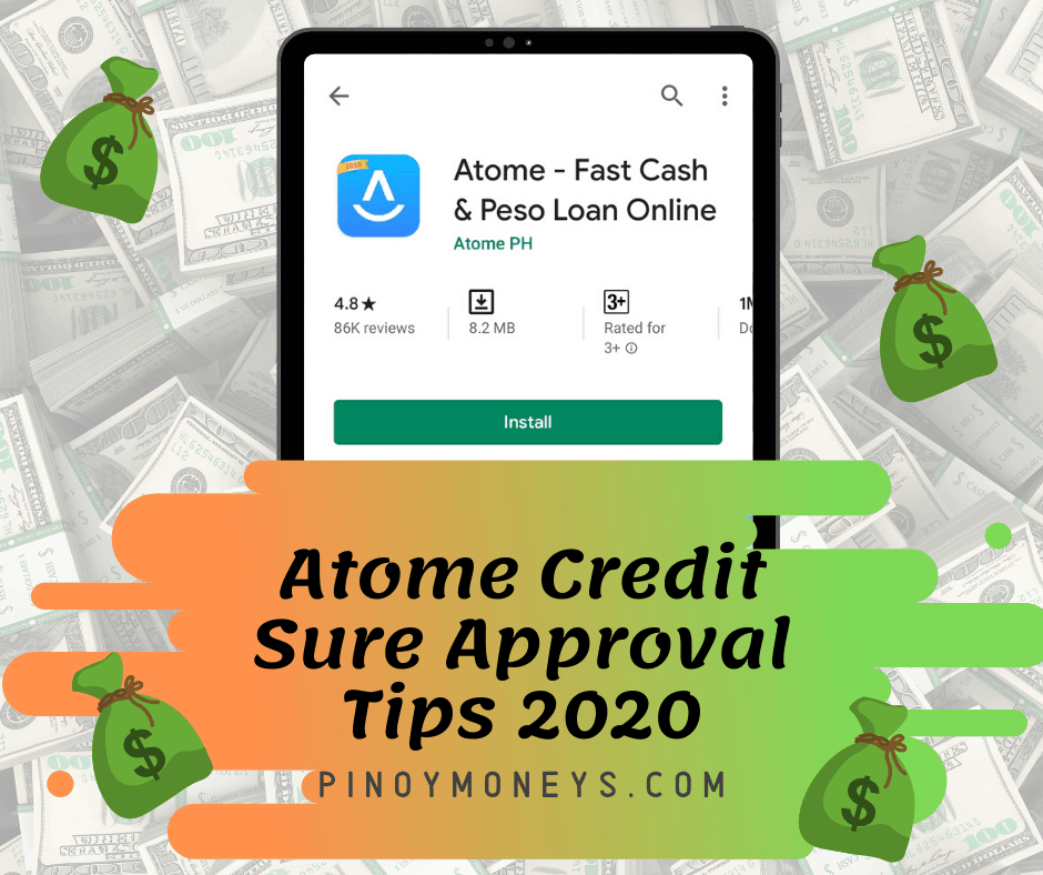 Atome Credit sure approval tips in 2020, Online Loans Philippines Review