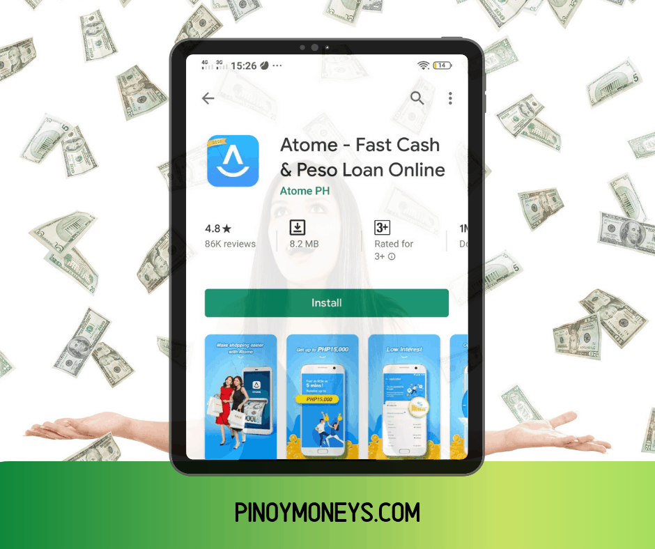 ATOME CREDIT - Fast, Easy Cash Loans Online - Pinoy Moneys