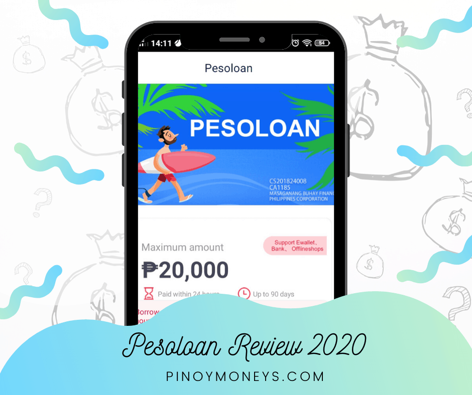 Pesoloan review - quick cash loans 2020
