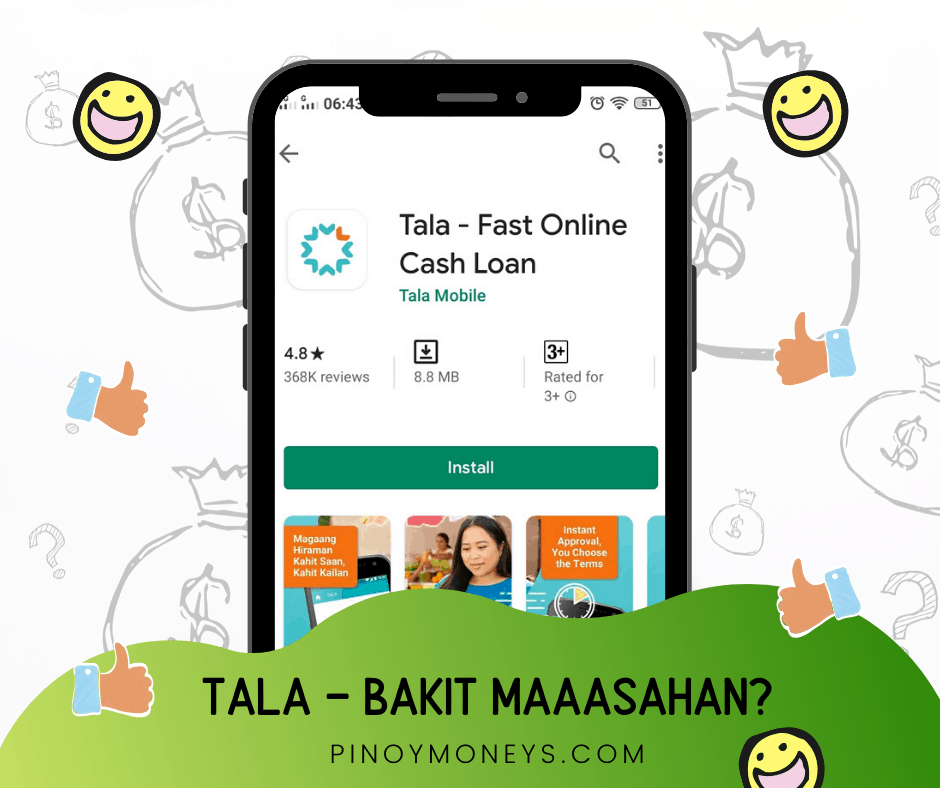 TALA Philippines Review - The Best Online Loans Fast Approval in 2020 Philippines