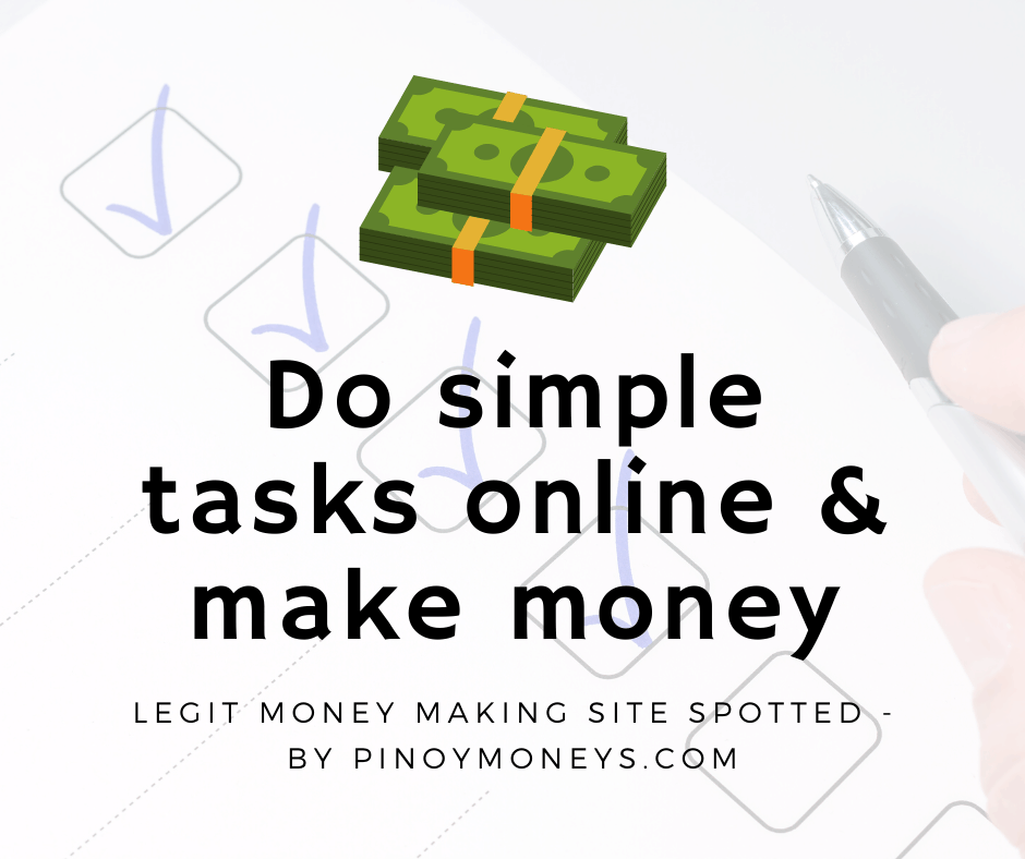 Do simple tasks online & make money