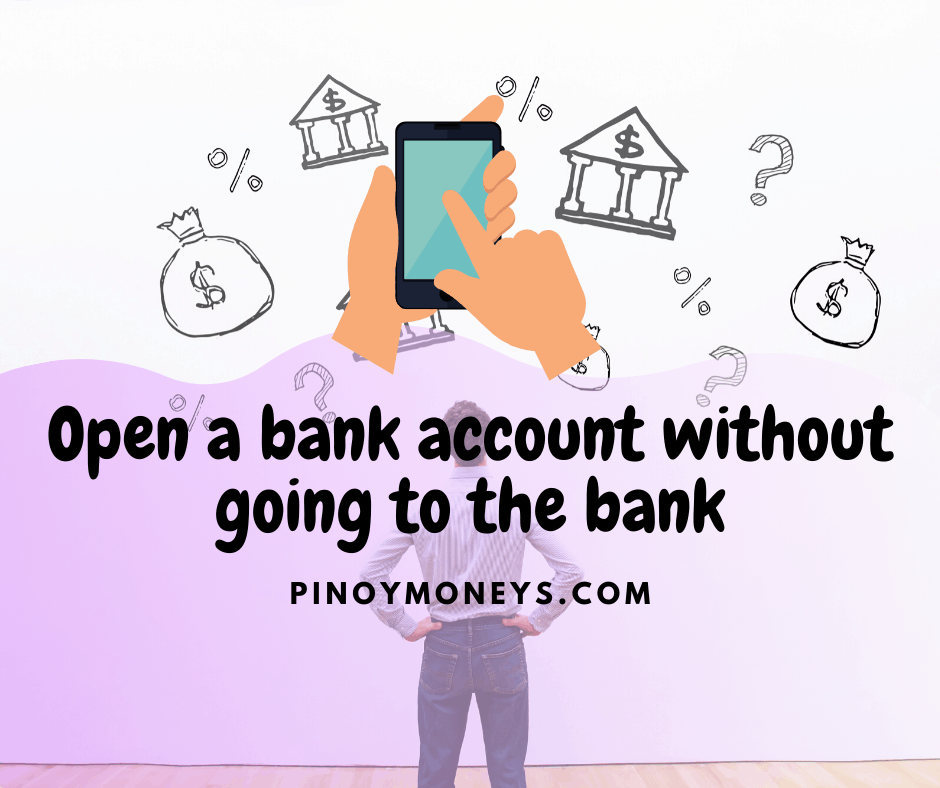 Open a bank account without going to the bank