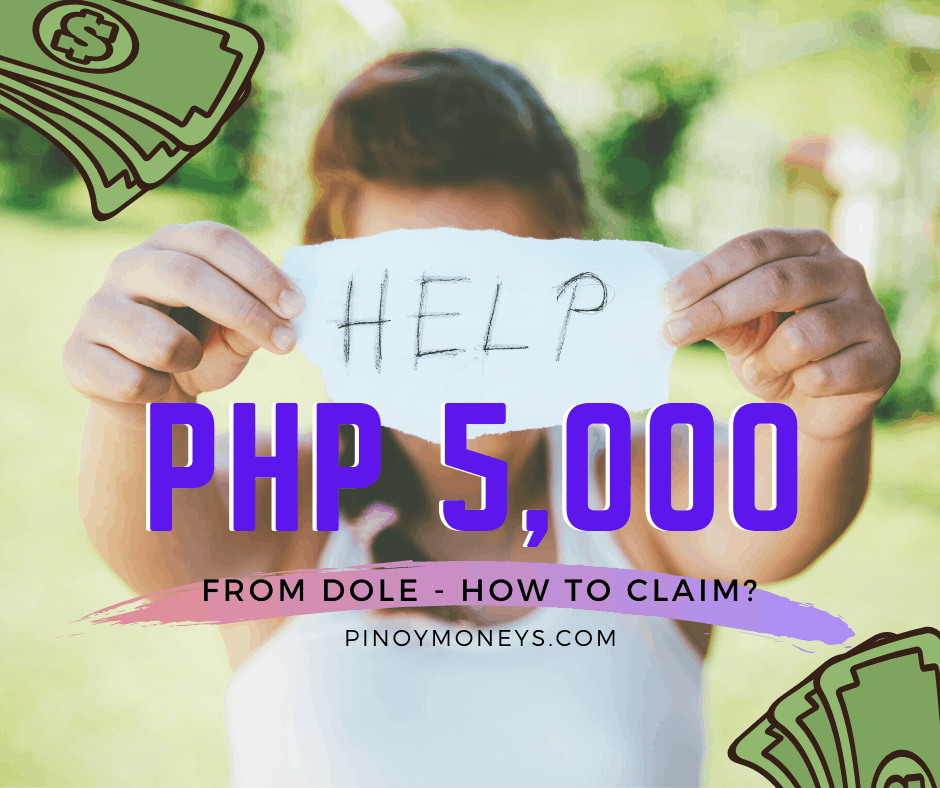 Salary subsidy from Department of Labor and Employment - worth 5,000 Pesos.