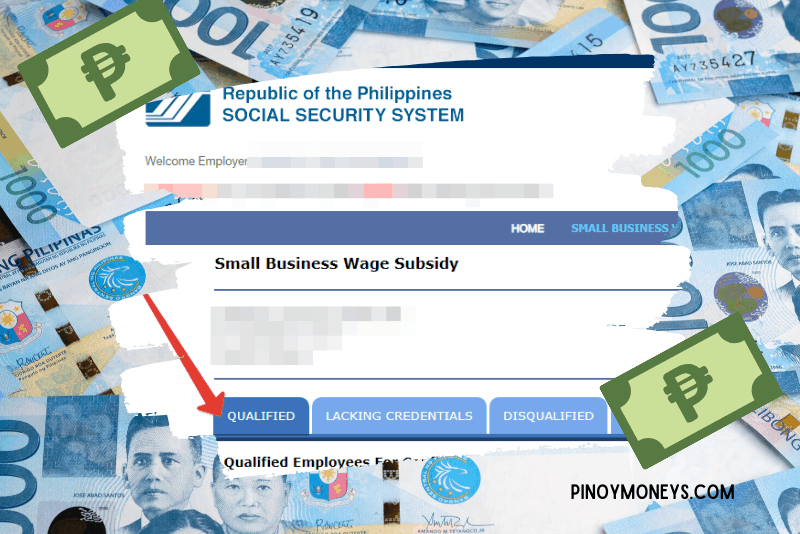 SSS Small Business Wage Subsidy Step by Step Guide