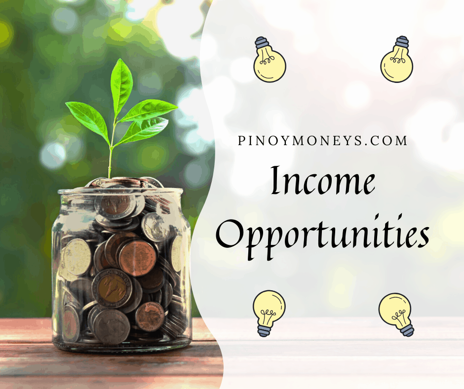 Income opportunities during COVID-19