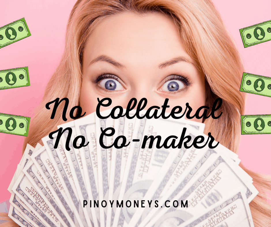 No Collateral No Co-maker personal loan Philippines