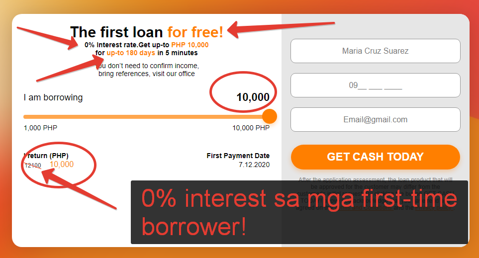pay day borrowing products app