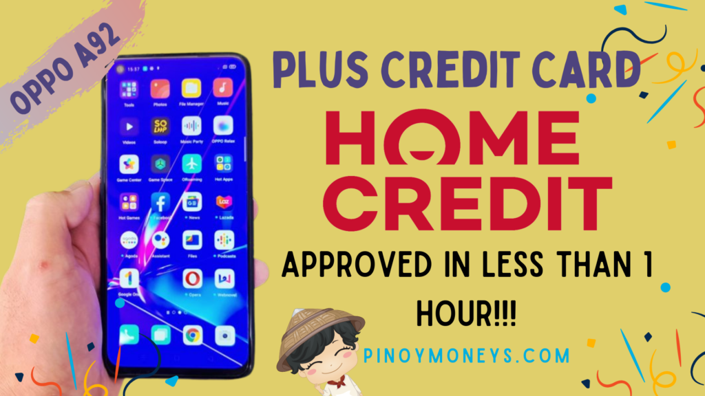 Home Credit Gadgets and Electronics Loan
