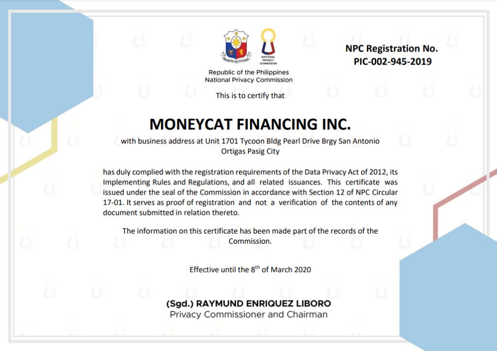 moneycat loan