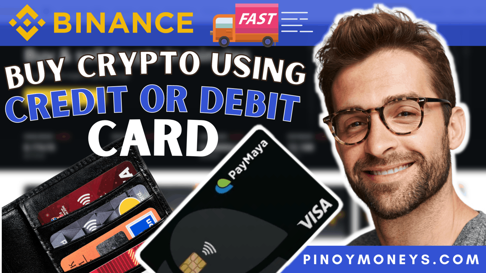 How to buy crypto on Binance using debit or credit card in the Philippines